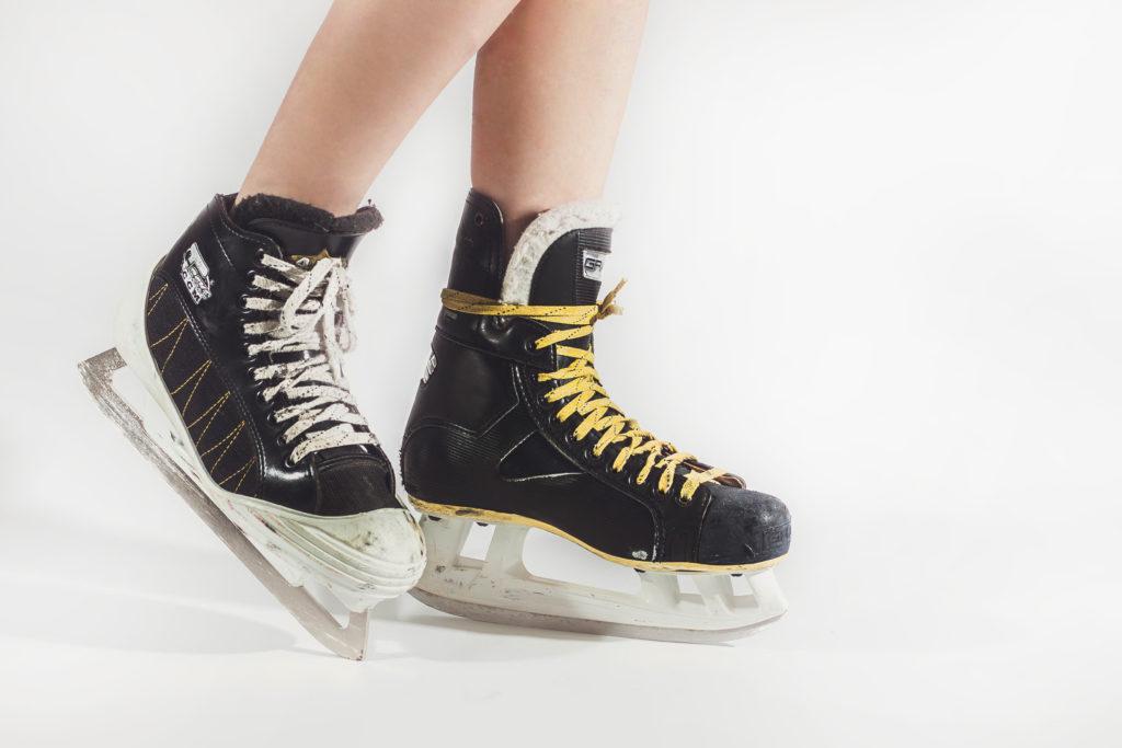 Female_Hockey_Player_Skates_CCM_Graff_Goalie_Forward